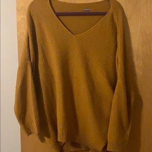 Oversized Orange fall sweater